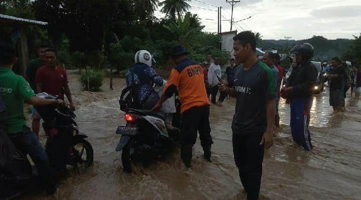 Banjir di Tilmuta dan Botumoito Boalemo