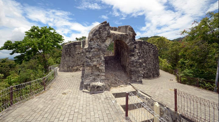 Objek wisata Benteng Otanaha