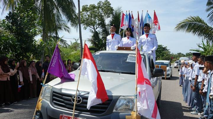 Kirab Bendera Pusaka 23 Januari