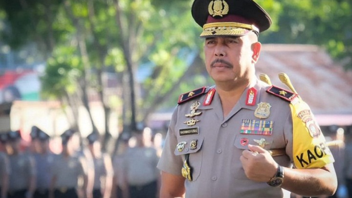 Kapolda Gorontalo Rachmad Fudail