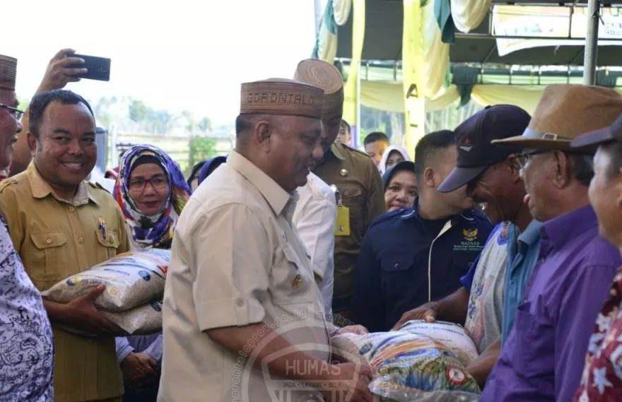 Bantuan Guberur Gorontalo