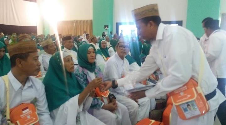 JCH Gorontalo memasuki asrama haji