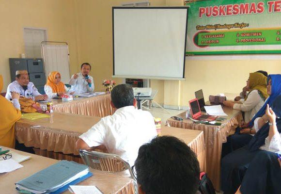 Penilaian Puskesmas Berprestasi tingkat Provinsi Gorontalo