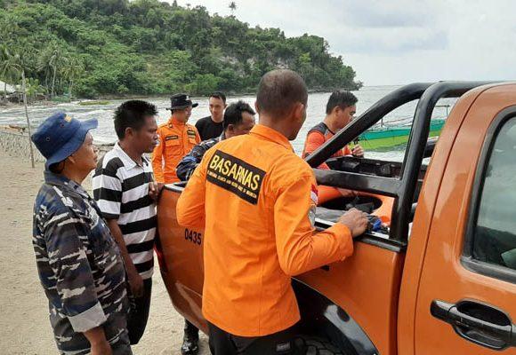 Pencarian Nelayan Hilang saat melaut