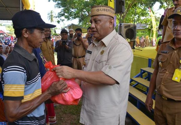 Gubernur Gorontalo Dijuluki Gubernur Lima Ribu