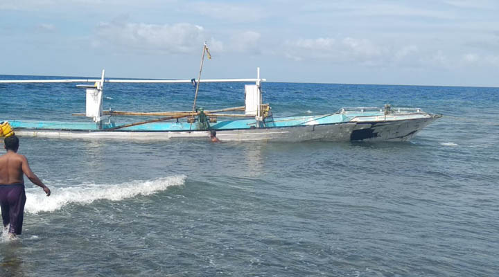 Kapal ikan KM Nelayan Sinetron