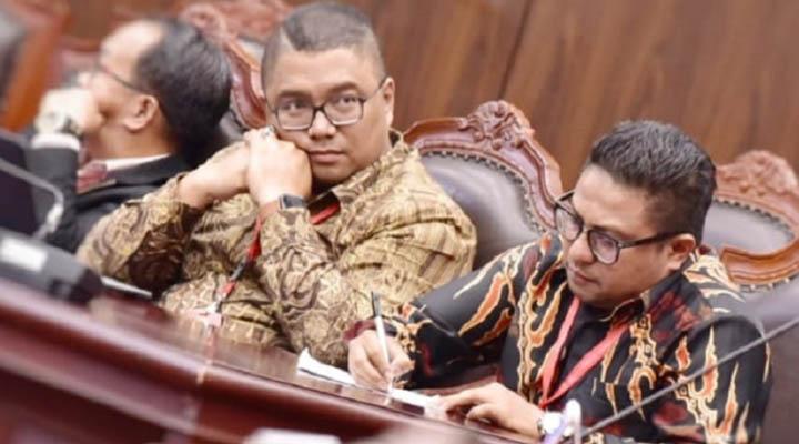Pembacaan putusan gugatan PKS Gorontalo dan PDIP Pohuwato