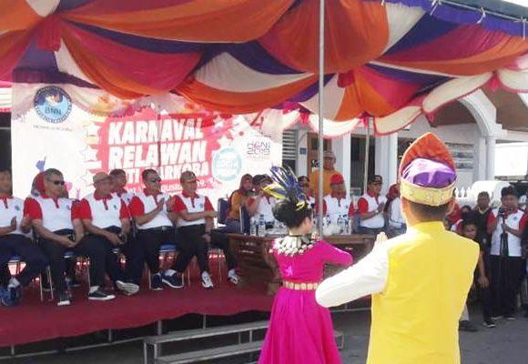 Karnaval Relawan Anti Narkoba