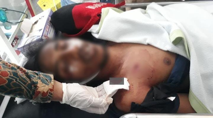 Mahasiswa UHO tewas tertembak