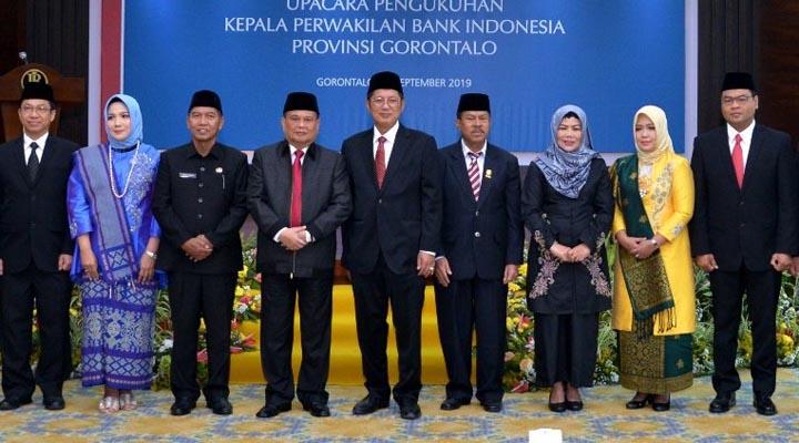 Pengukuhan Kepala BI Gorontalo