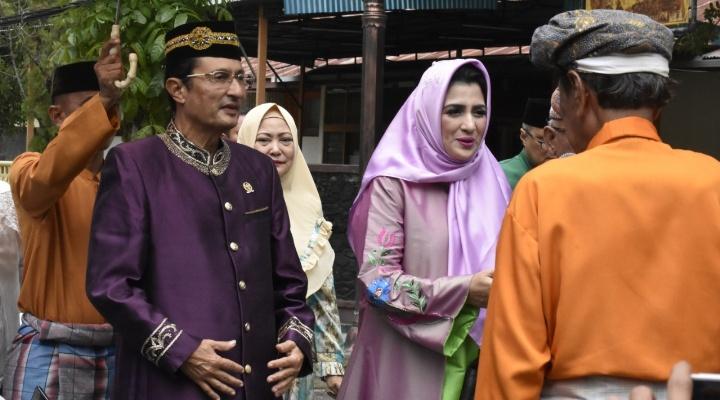 Kunjungan fadel Muhammad