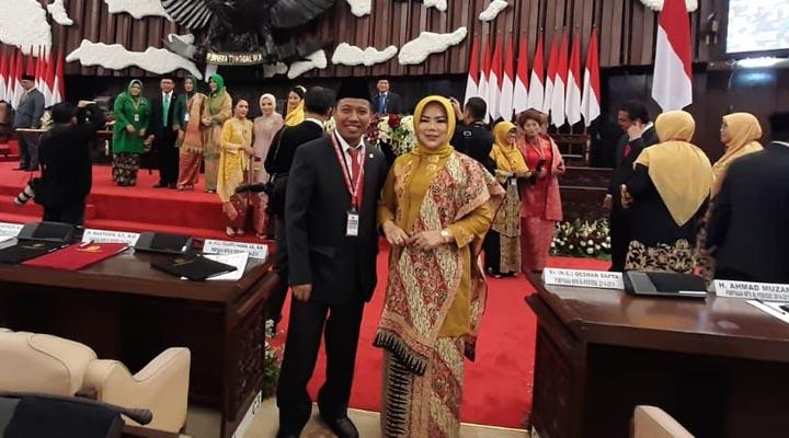 Pelantikan Wakil Rakyat asal Gorontalo