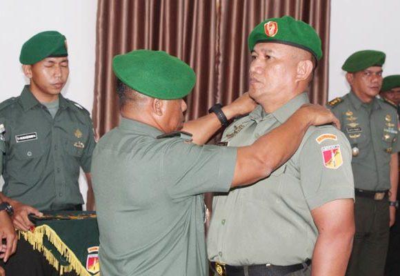 Personel Korem 133/Nani Wartabone Naik Pangkat