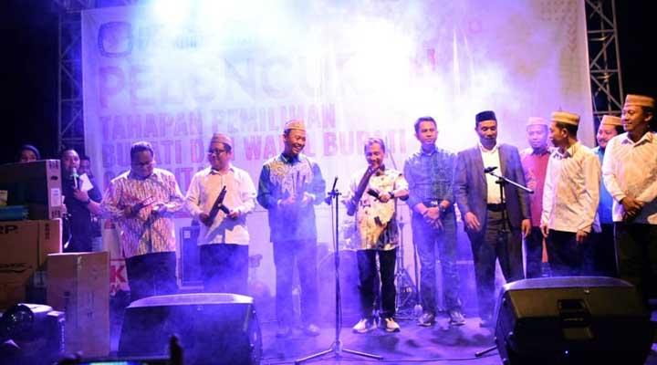 Peluncuran Tahapan Pilkada Kabupaten Gorontalo