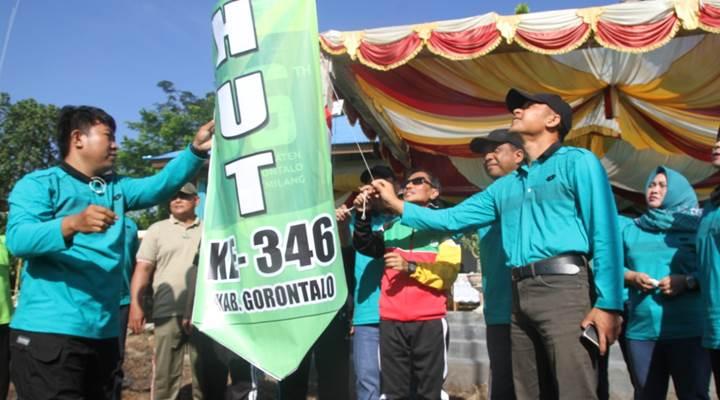 Pencanangan HUT Kabupaten