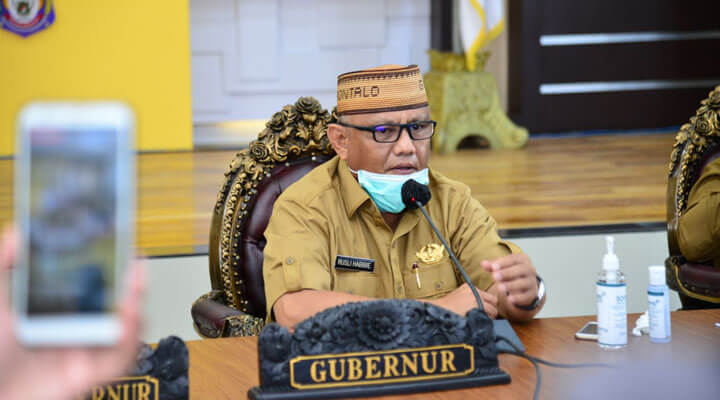 Gubernur Rusli Habibie mengusulkan PSBB kedua