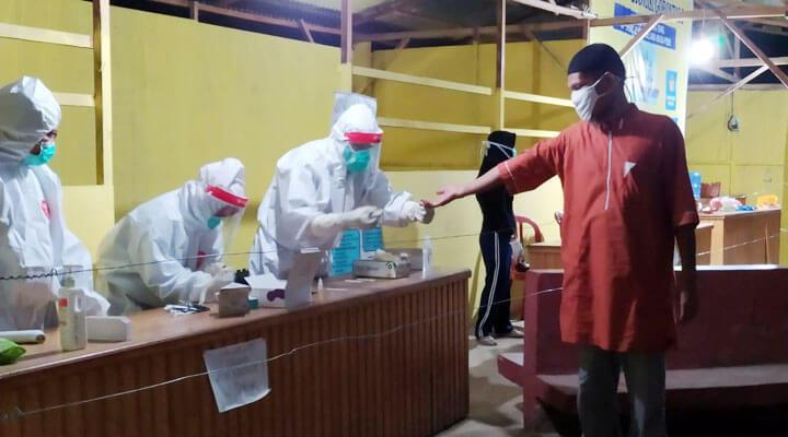 7 jemaah tablig asal gorontalo baru pulang dari bangladesh
