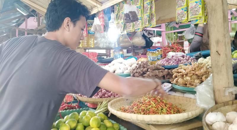Harga cabai di Pasar Sentral