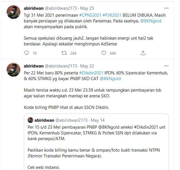 CPNS 2021 Ditunda