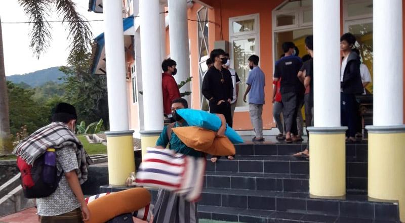 Siswa MAN IC Gorontalo positif covid
