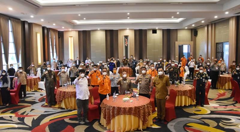 rapat koordinasi SAR Daerah Gorontalo tahun 2021