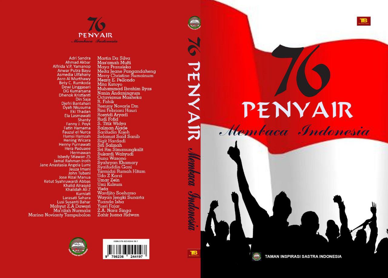 Buku Antologi Puisi 76 Penyair Membaca Indonesia
