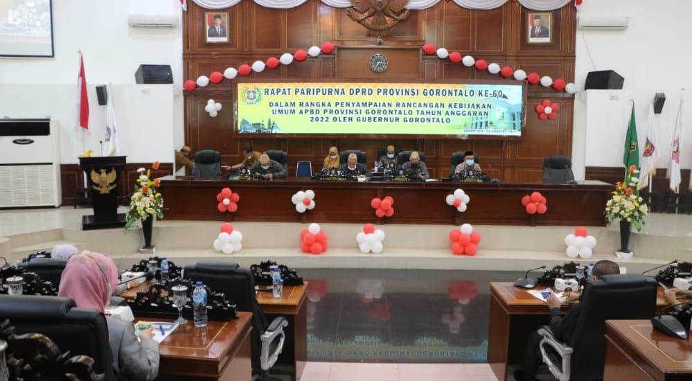 Rapat Paripurna DPRD Provinsi Gorontalo